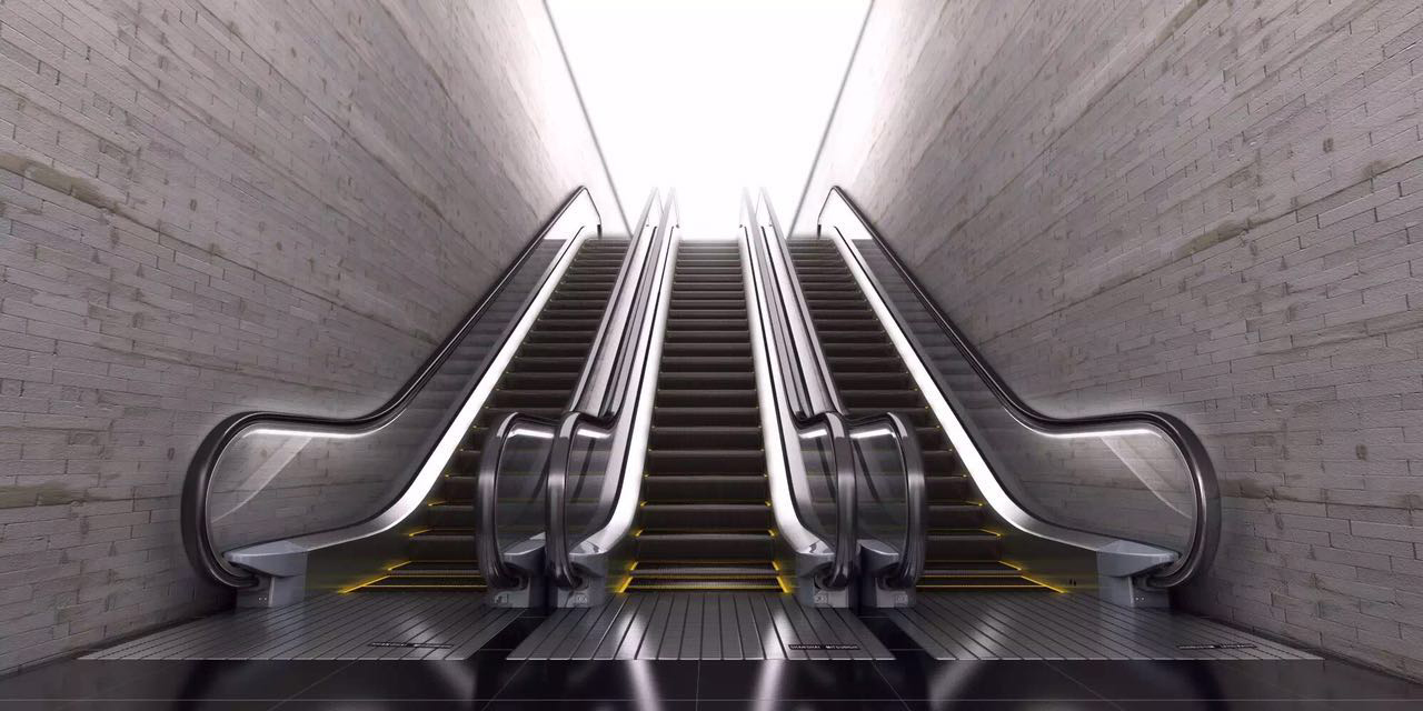 上海三菱包揽昆明地铁3号线所有电梯